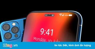 iPhone 12 với Face ID đục lỗ, vân tay dưới màn hình trông ra sao?