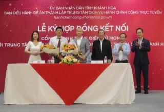 Ví điện tử MoMo thanh toán điện tử các dịch vụ công Khánh Hòa
