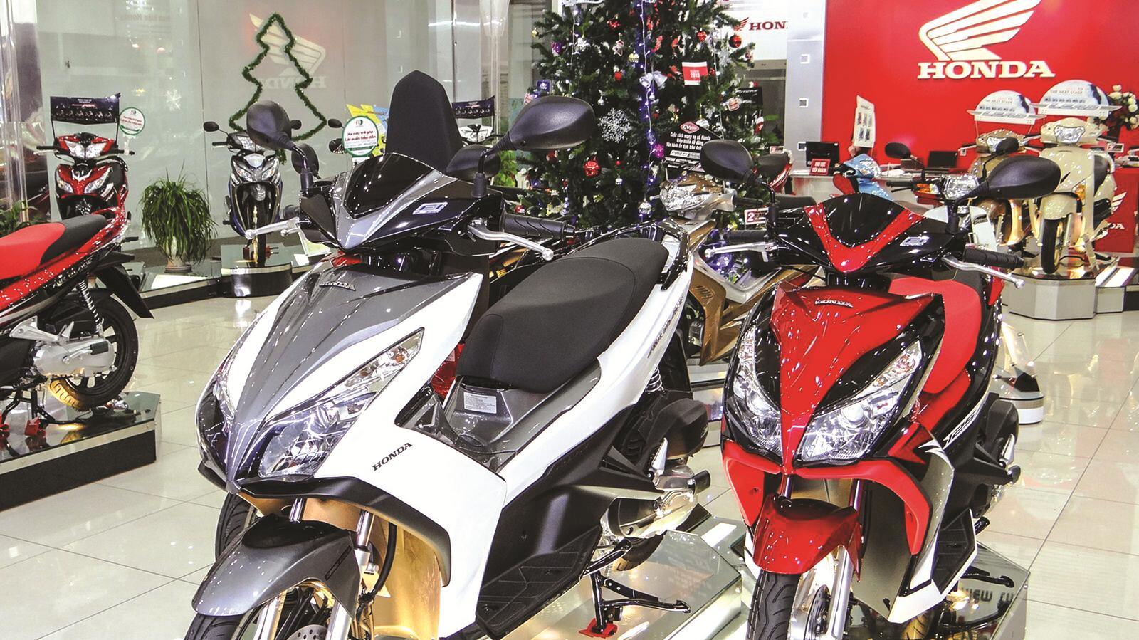 Cuối năm thị trường xe máy sôi động