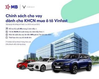 Siêu ưu đãi khi vay vốn mua ô tô Vinfast tại MB
