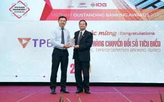 TPBank nhận 3 giải thưởng lớn về ngân hàng số