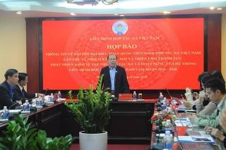 600 đại biểu tham dự Đại hội toàn quốc Liên minh Hợp tác xã Việt Nam lần thứ VI