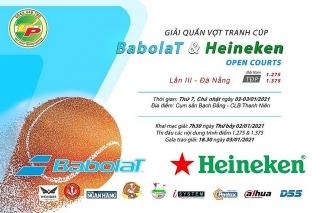 Sắp diễn ra Giải Quần vợt tranh cúp Heineken & Babolat Open Courts lần thứ 3