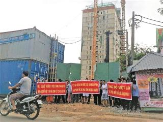 TP.Hồ Chí Minh: Người dân vẫn đang gặp rắc rối ở các dự án chung cư