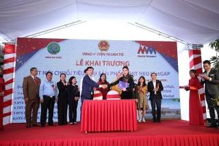MM Mega Market khai trương trạm trung chuyển thịt heo đầu tiên tại miền Bắc