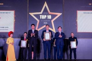 SAVIS nằm trong TOP 10 doanh nghiệp công nghệ thông tin hàng đầu Việt Nam
