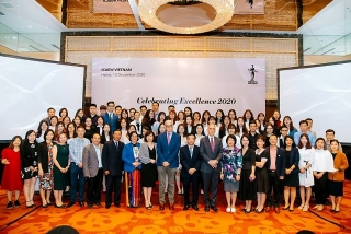 ICAEW tổ chức Lễ tốt nghiệp cho học viên tại Việt Nam