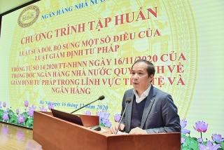 NHNN tổ chức tập huấn các nội dung của Thông tư 14/2020/TT-NHNN
