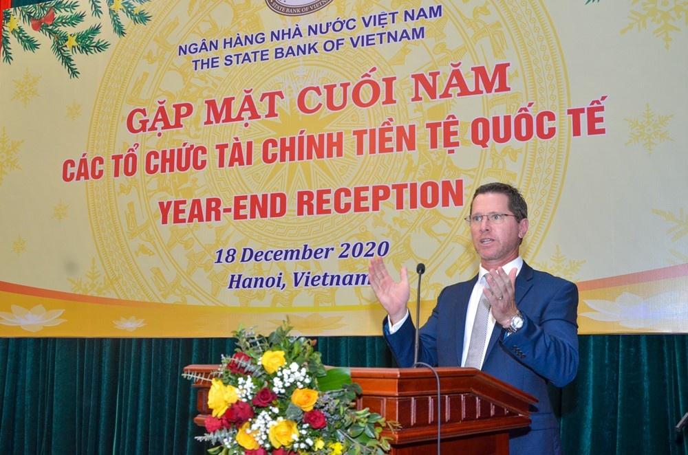 ngan hang nha nuoc gap mat cac to chuc tai chinh tien te quoc te 110045
