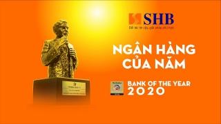 SHB được vinh danh Ngân hàng của năm