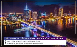 Đà Nẵng sôi động đêm lễ hội chào năm mới