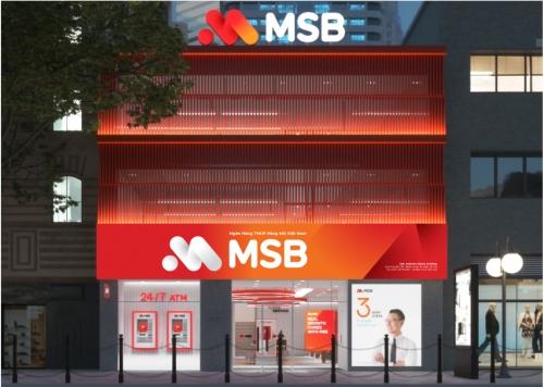 Thương hiệu MSB sẽ thay cho Maritime Bank