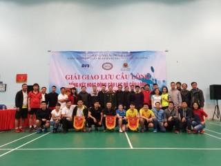 Giải Giao lưu cầu lông thành công tốt đẹp