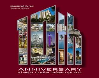 Công ty Thiết kế châu Á KUME kỷ niệm 10 năm thành lập