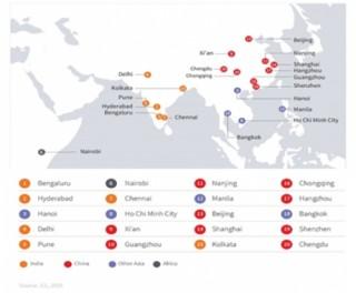 Hà Nội và TP.HCM lọt top 10 thành phố năng động nhất