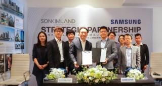 SonKim Land và Samsung hợp tác phát triển nhà thông minh The Metropole Thu Thiem