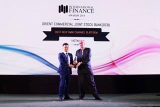 OCB nhận giải thưởng ngân hàng số đột phá