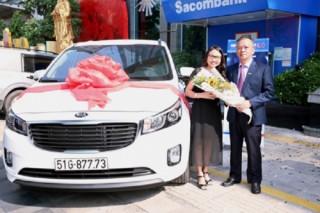 109 doanh nghiệp trúng giải Sacombank
