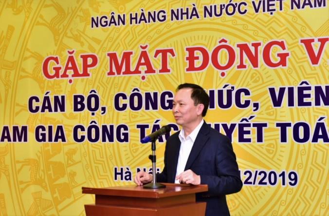 ban lanh dao nhnn gap mat can bo cong chuc vien chuc tham gia cong tac quyet toan nam 2019