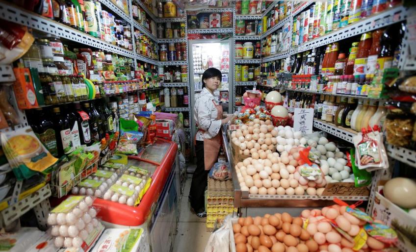 Chỉ số giá bán nhà sản xuất của Trung Quốc giảm, trong khi giá tiêu dùng vẫn tăng cao
