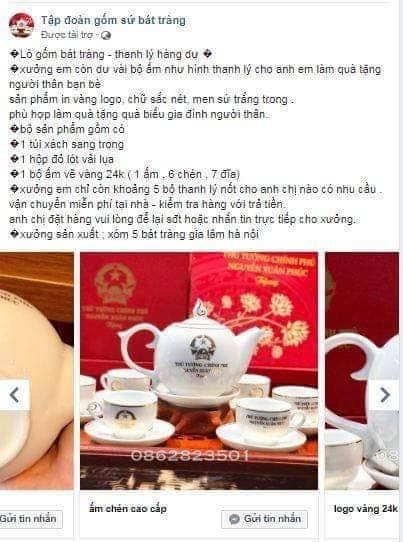 xu phat ho kinh doanh gom su in ten chu tich nuoc thu tuong chinh phu tren san pham