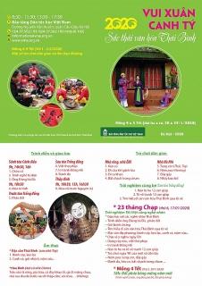 Trải nghiệm Tết Việt cùng nghệ nhân Thái Bình