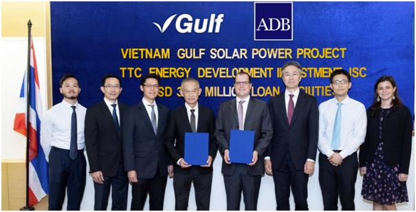 ADB tài trợ 37,8 triệu USD cho dự án điện mặt trời công suất 50 MW