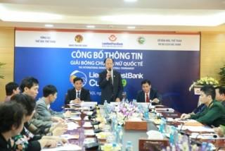 LienVietPostBank tài trợ chính Giải bóng chuyền quốc tế tại Bắc Ninh