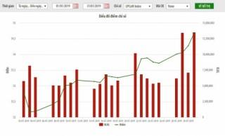 UPCoM-Index tăng 4,6% trong tháng 1/2019