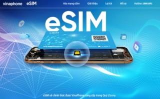 Vinaphone chính thức đổi eSIM cho khách hàng