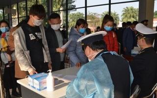 Tạm dừng tiếp nhận lao động từ Trung Quốc quay lại Việt Nam làm việc