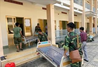 Ứng phó dịch nCoV: Bệnh viện dã chiến TP.HCM hoạt động từ 10/2, thông quan hàng hóa có kiểm soát tại cửa khẩu Lào Cai