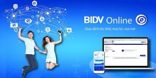 BIDV hoàn 100% phí giao dịch trên kênh BIDV Online, BIDV SmartBanking cho khách hàng mới