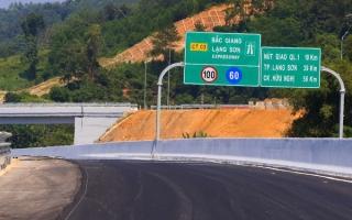 Cao tốc Bắc Giang-Lạng Sơn chính thức thu phí từ ngày 18/2