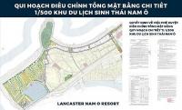 Đẩy mạnh triển khai dự án Khu du lịch sinh thái Nam Ô