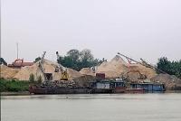 Thay đổi khung giá tính thuế tài nguyên với cát, sỏi, đá xây dựng từ tháng 3