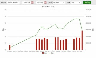 HNX-Index tháng 2/2019: tăng điểm 3%, vốn hóa gần 197 nghìn tỷ đồng