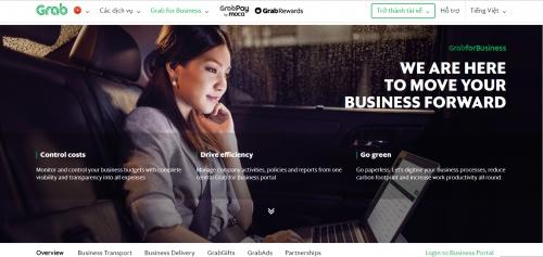Grab ra mắt tiện ích mới cho khách hàng doanh nghiệp