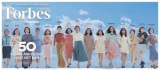 Forbes Việt Nam công bố danh sách 50 Phụ nữ ảnh hưởng nhất Việt Nam năm 2019