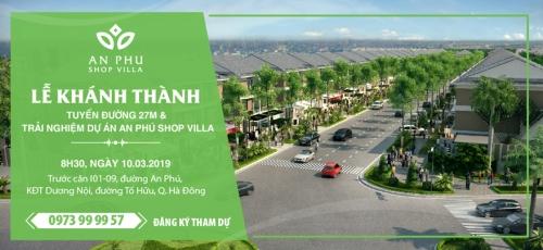 Trải nghiệm dự án An Phú Shop-villa của Tập đoàn Nam Cường