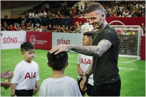 David Beckham - Đại sứ thương hiệu toàn cầu AIA đến Việt Nam