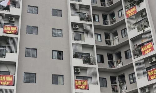 Chung cư Happy Star: Người dân đồng loạt rao bán nhà