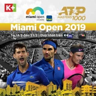 K+ sở hữu bản quyền ATP World Tour series trong 5 mùa giải