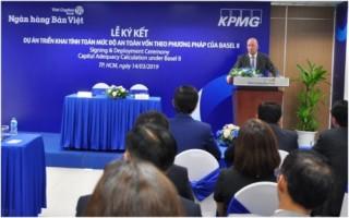 Ngân hàng Bản Việt hợp tác KPMG làm Basel II
