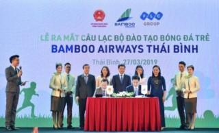 Ra mắt Câu lạc bộ bóng đá trẻ Bamboo Airways Thái Bình