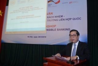 Đóng góp tích cực vào 'Nguyên tắc ngân hàng có trách nhiệm'