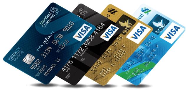 Thanh toán với thẻ Visa - một lựa chọn không tồi