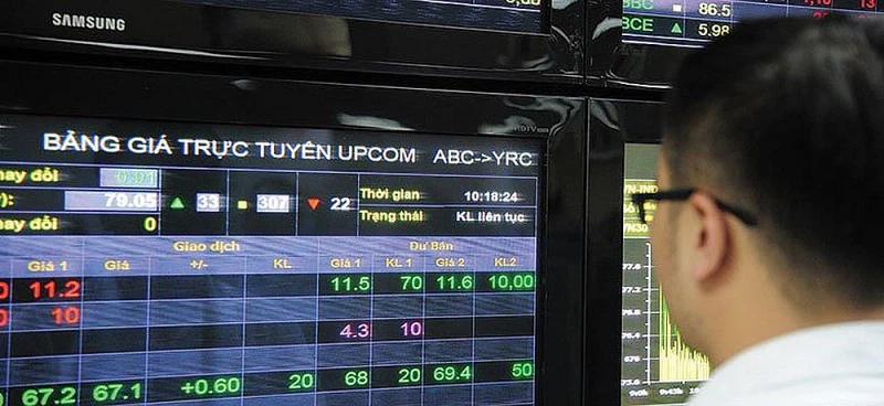 UPCoM tháng Hai: Giá trị vốn hóa tăng 6,34%