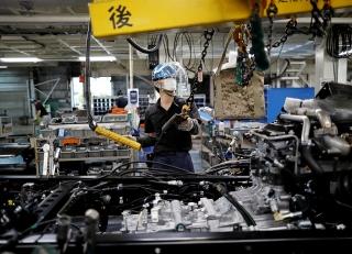 Sản xuất công nghiệp của Nhật Bản tăng trong tháng Ba