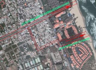 Đà Nẵng: Mở rộng lối xuống biển giữa khách sạn Furama và đô thị du lịch Ariyana